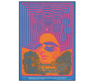 Take a trip back to the psychedelic era via Aug. 5 concert poster auction