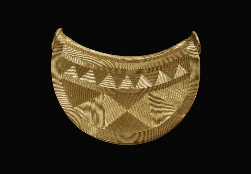 Bronze Age sun pendant, 1000–800BC © The Trustees of the British Museum
