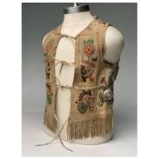 19th century buckskin vest, est. $3,000-$5,000