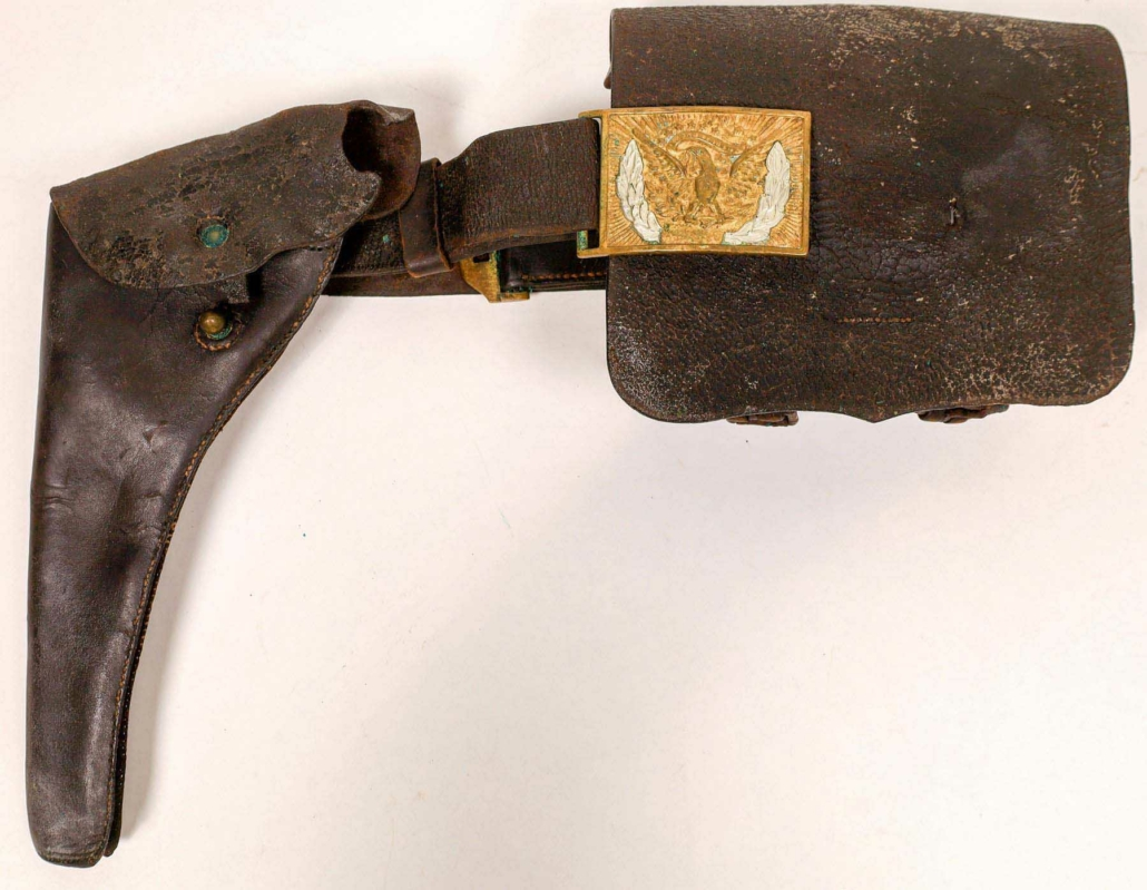 General Custer's holster and gun belt, estimated at $60,000-$90,000