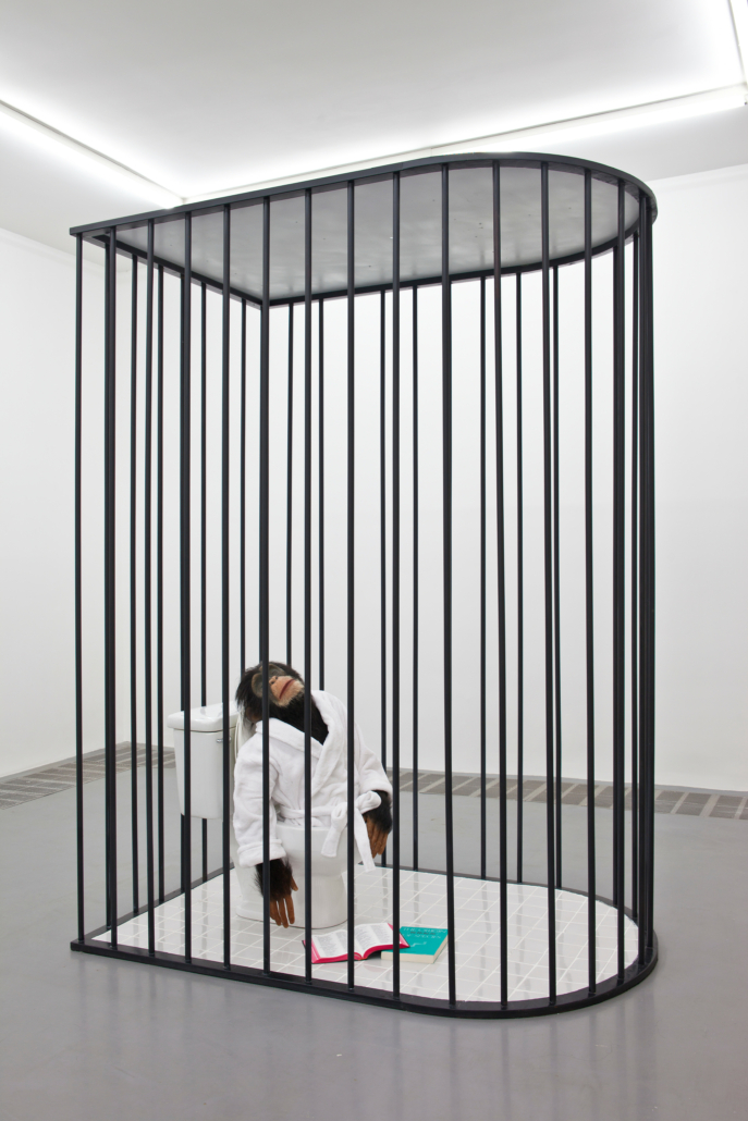 Qiu Anxiong, 'The Doubter,' 2010, Mixed media, 94 1/2 × 70 7/8 × 47 1/4 in. (240 × 180 × 120 cm), Yuz Foundation Collection, © Qiu Anxiong, photo courtesy of the artist, by Julian Wang
