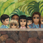 'Eyes Upon You,' a 1972 painting by Margaret Keane, has been returned to its original owner with the help of Heritage Auctions and former FBI special agent and art-recovery expert Robert Wittman.