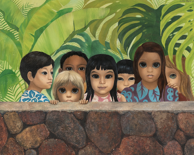 Margaret Keane painting recovered almost 50 years after it was stolen