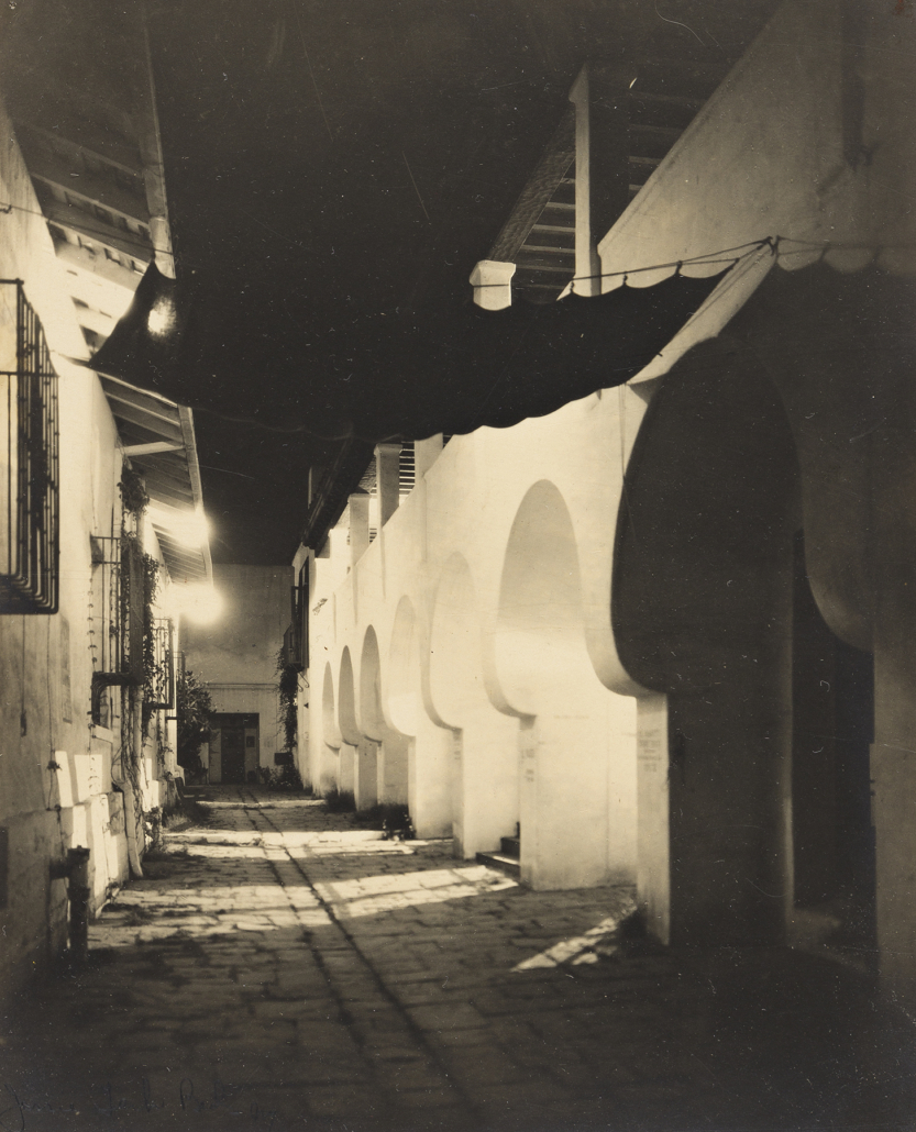 Archive of 15 silver prints of California scenes by Jessie Tarbox Beals, estimated at $6,000-$8,000