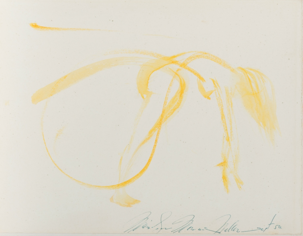 Marilyn Monroe, 'Myself Exercising,' 1956, which sold for $125,000