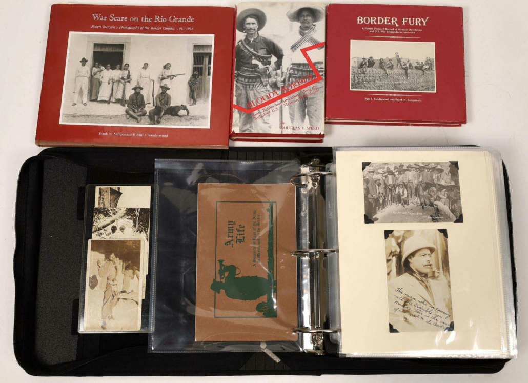 Major collection related to the Mexican War and Pancho Villa, estimated at $25,000-$50,000
