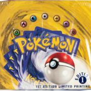 Pokemon First Edition Base Set Sealed Booster Box, $384,000