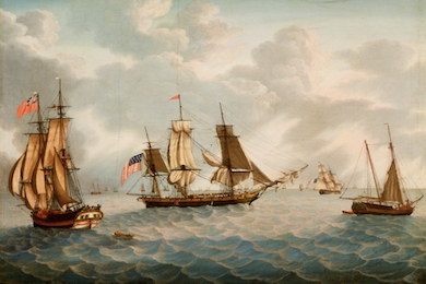 Peabody Essex exhibition sails through centuries of marine painting