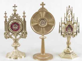 Reliquaries: Vessels for sacred objects that stir the faithful