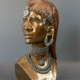 James Tandi bronze of a Maasai warrior, est. $3,400-$15,000