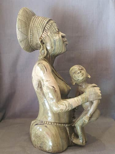Robert Chimungwa butter jade sculpture, est. $40,000-$200,000