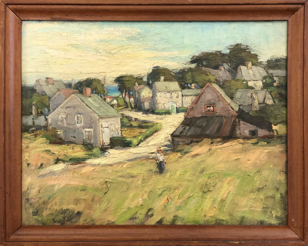 Anne Ramsdell Congdon, 'View from Mill Hill,' estimated at $30,000-$50,000