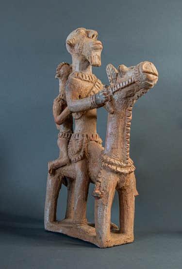 Terracotta figure from Mali, est. $10,000-$15,000