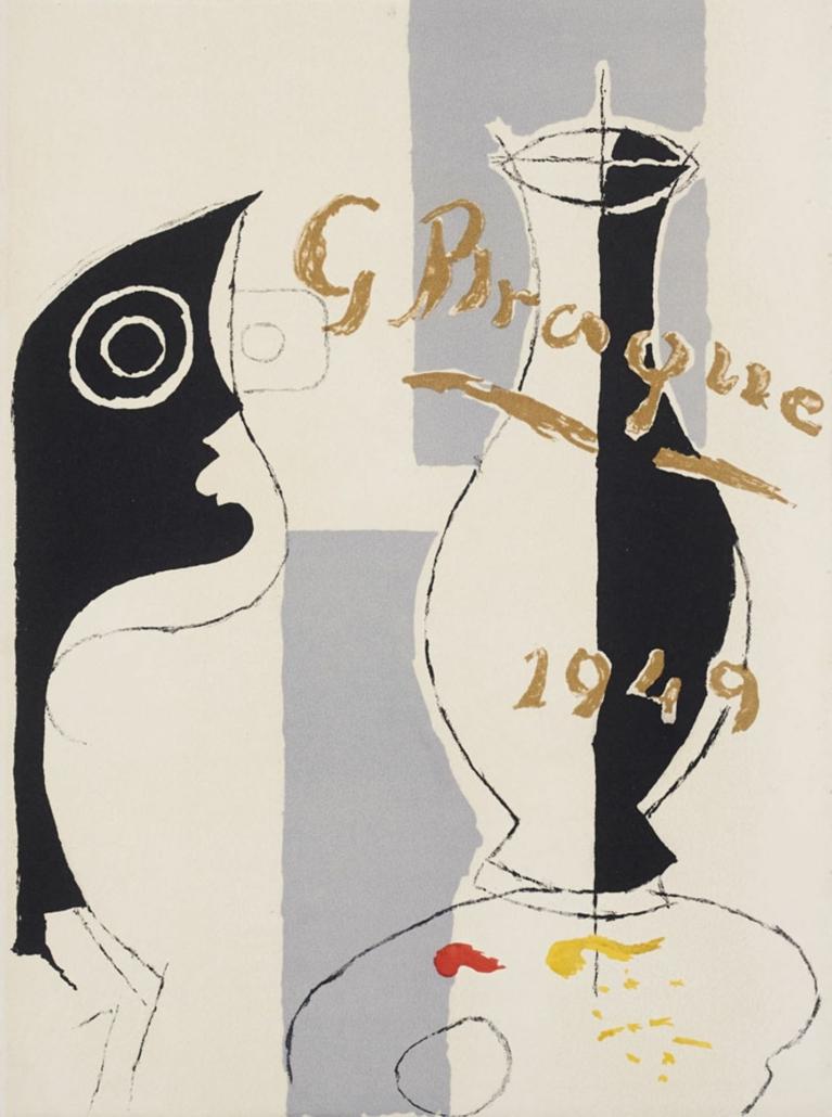 Pierre Reverdy's 'Une aventure methodique,' estimated at €2,200-€4,400