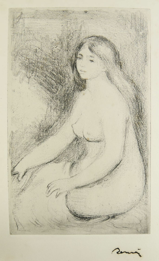 Monograph of works by Auguste Renoir, estimated at €2,800-€5,600