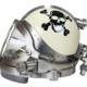Joe Savoie mixed gas fiberglass diving helmet, estimated at $7,500-$11,000