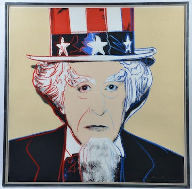 Uncle Sam: patriot, pitchman, enduring symbol of the USA