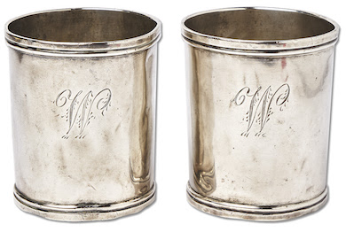 Revolutionary War silver cups used by George Washington head to auction