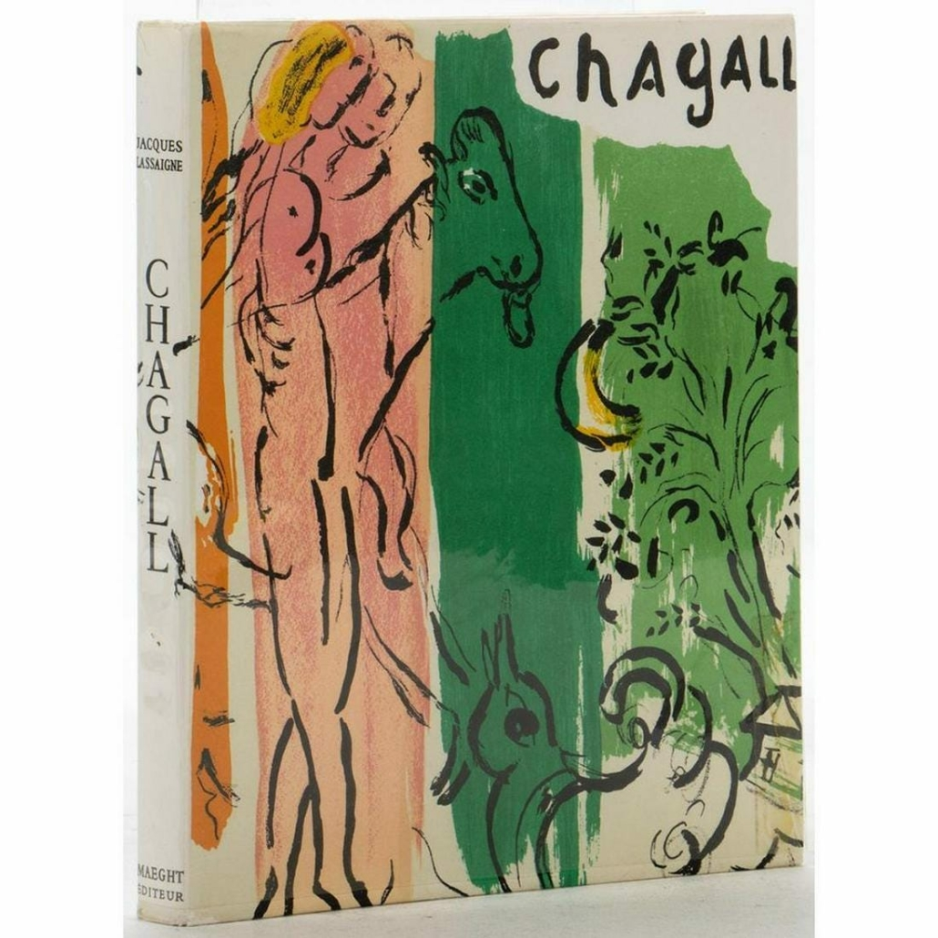 1957 book 'Chagall,' with 15 original Marc Chagall lithographs, est. $800-$1,200