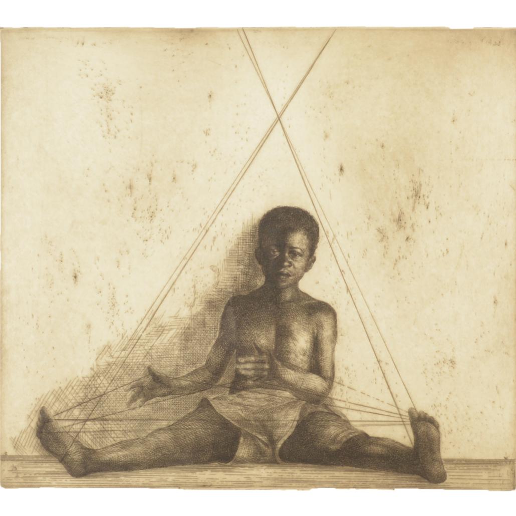 Charles White, 'Cat's Cradle,' $15,600