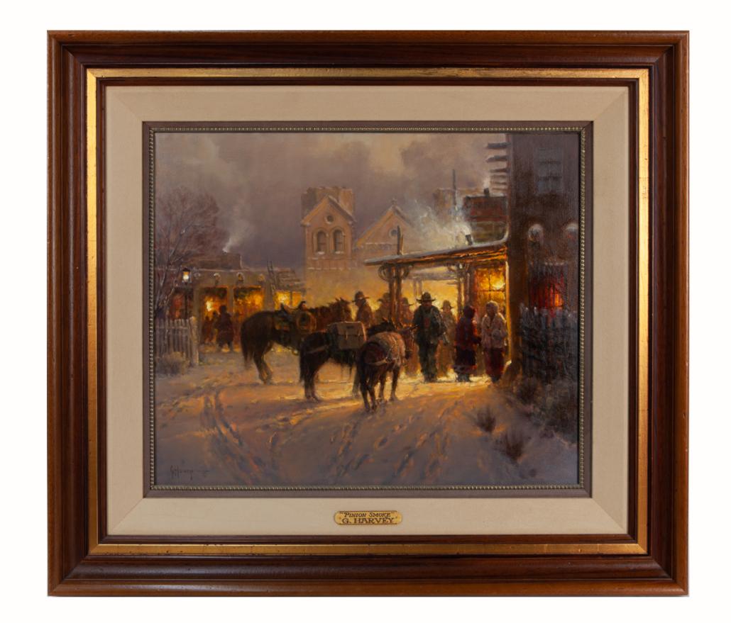Gerald Harvey Jones, 'Pinon Smoke Santa Fe,' est. $25,000-$35,000
