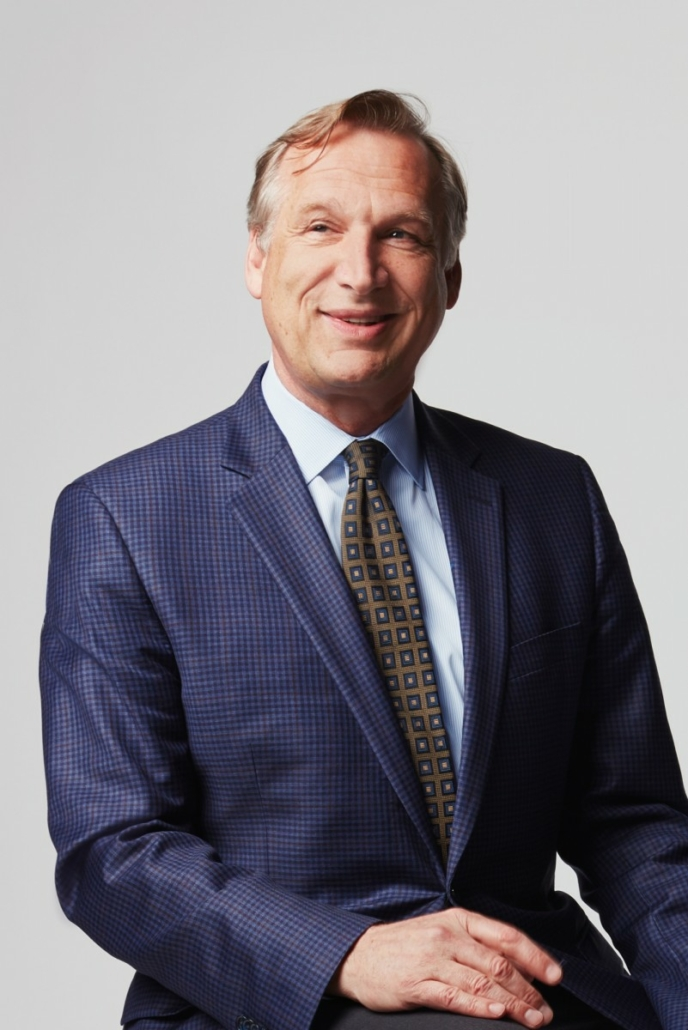 Portrait of Timothy Rub, the George D. Widener Director and Chief Executive Officer, Philadelphia Museum of Art. Photo by Elizabeth Leitzell.