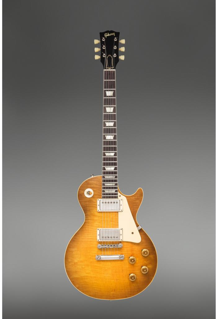 1959 Gibson Les Paul Standard Sunburst, $350,000