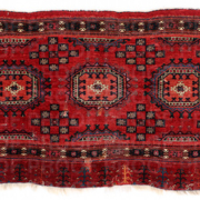 Salor Chuval carpet, Turkmenistan, 18th century, $59,375