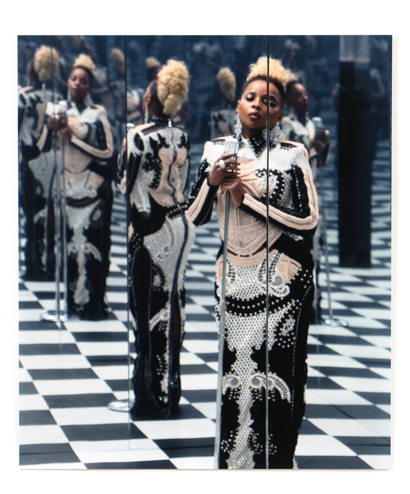 Carrie Mae Weems, 'MJB (Mary J. Blige) – Reflection,' est. $3,000-$5,000