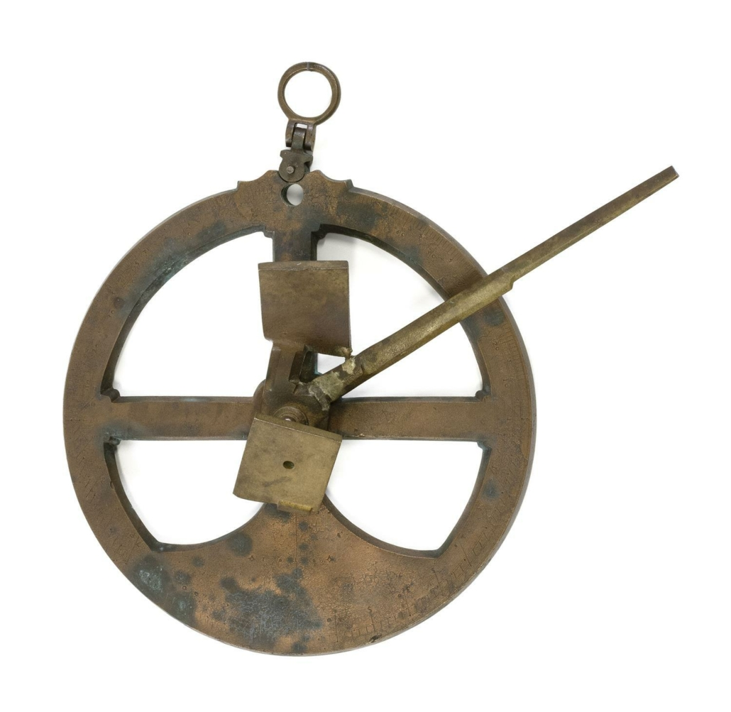 17th century brass astrolabe recovered from a Spanish shipwreck, est. $40,000-$60,000