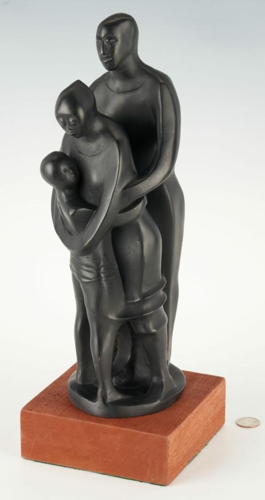 Elizabeth Catlett, 'The Family,' $33,600