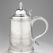 Tankard, Marked by Paul Revere, Jr. (1734-1818), Boston, Massachusetts, ca. 1795, silver, Museum Purchase, The Friends of Colonial Williamsburg Collections Fund, 2021-45