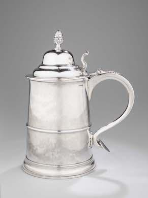 Colonial Williamsburg acquires Paul Revere silver tankard