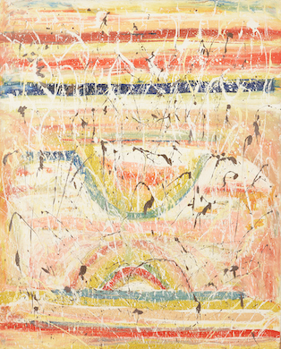 Case sells Beauford Delaney abstract for $348K