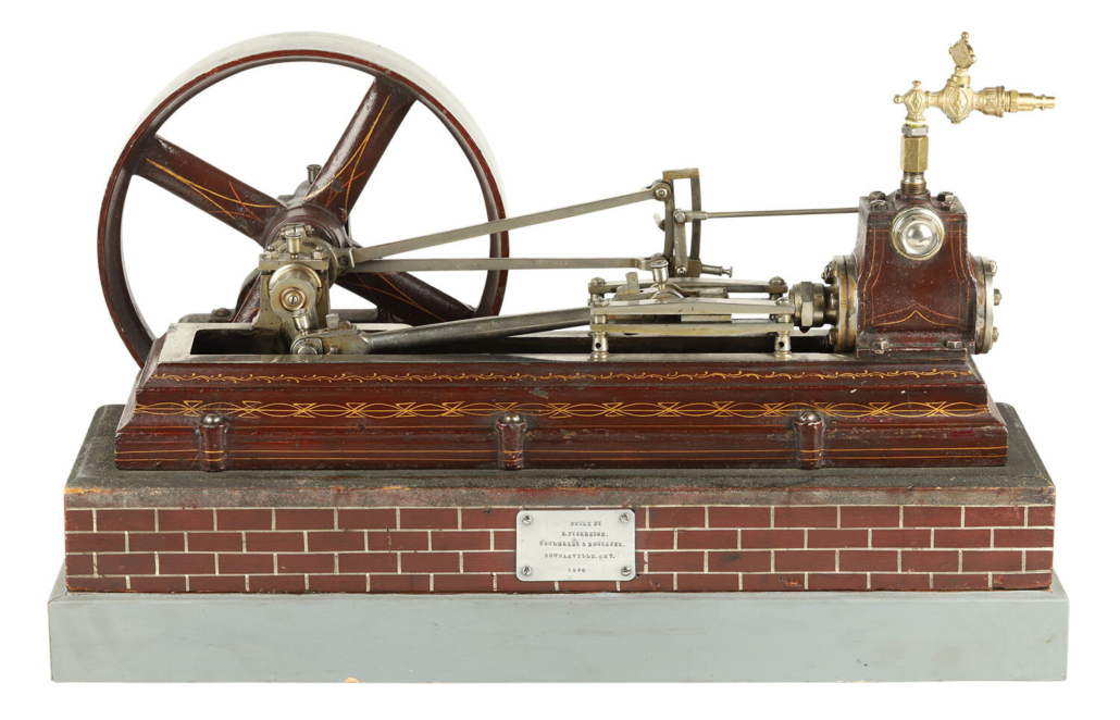 Scale model Dominion steam engine, est. CA$2,000-$3,000