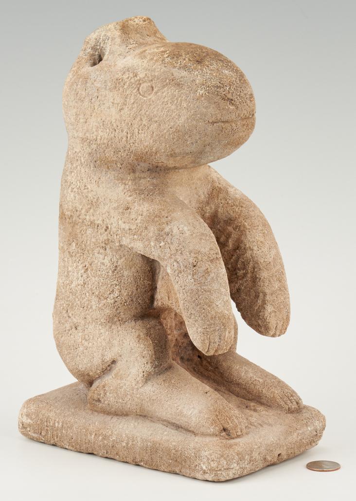 William Edmondson 'Critter,' $120,000