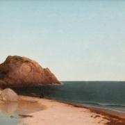 John F. Kensett, 'Singing Beach & Eagle Rock, Magnolia, Massachusetts,' est. $200,000-$400,000