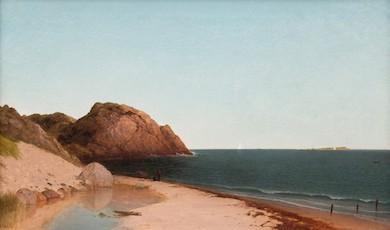 Kensett seascape graces Cottone Sept. 18 auction