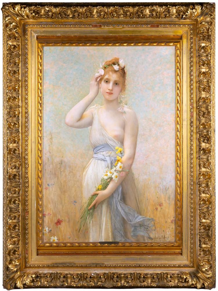 Jules Joseph LeFebvre, 'Morning Glory,' est. $50,000-$80,000