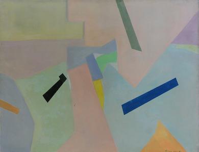 Okada canvas graces Clarke Auction Gallery sale, Sept. 12
