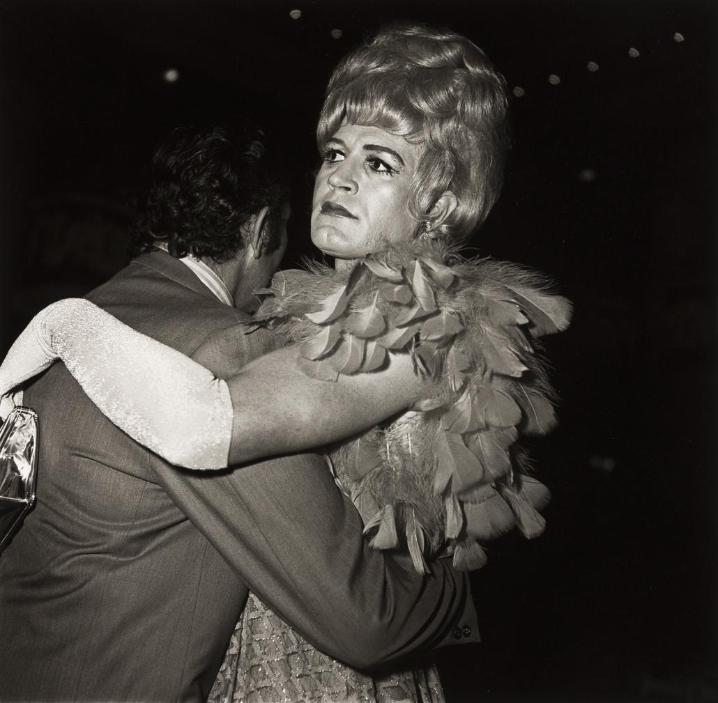 Diane Arbus, 'Two Men Dancing at a Drag Ball, NYC,' est. $5,000-$7,500