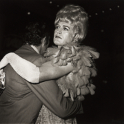 Diane Arbus, 'Two Men Dancing at the Drag Ball, NYC,' silver print, 1970, printed 1972. Sold for $50,000, a record for the print.