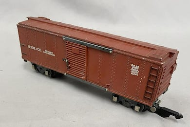 Bidders push American Flyer boxcar to nearly $19K at Weiss