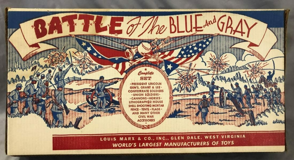 Sealed Marx 4658 Battle of the Blue & Gray Civil War-themed playset, $4,080