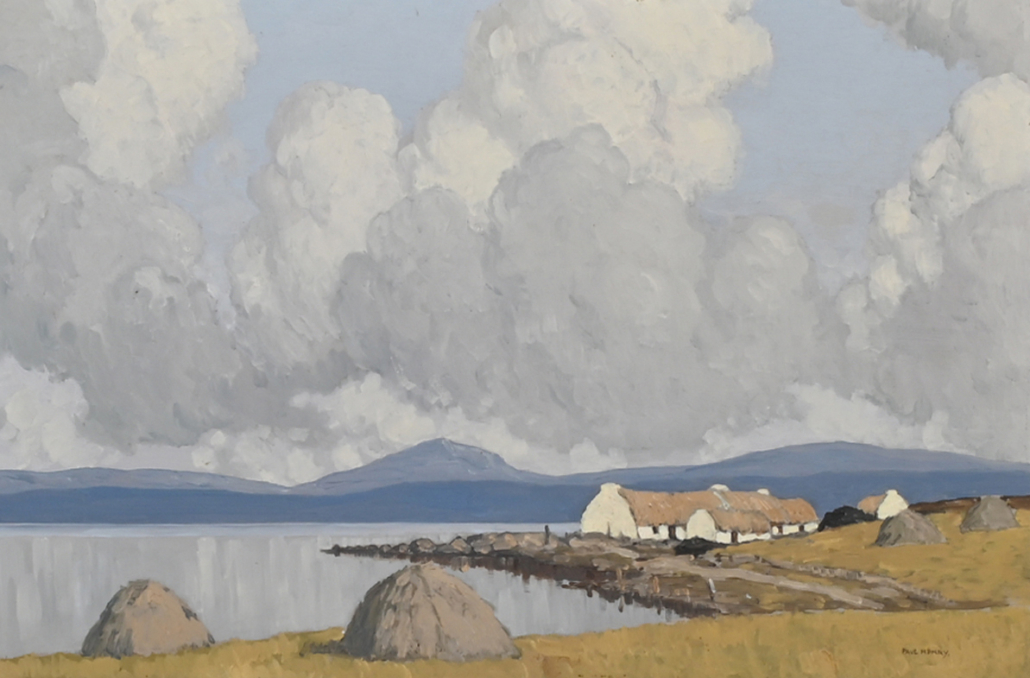 Paul Henry, 'Lakeside Cottages,' $230,850