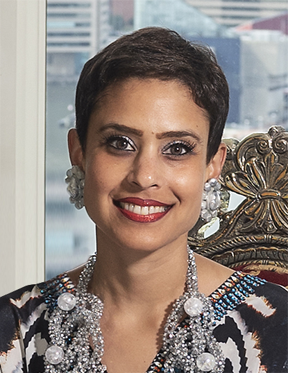 Nupur Parekh Flynn, one of the BMA's five new trustees. Image courtesy of the BMA.
