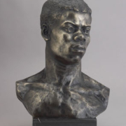 'Portrait Bust of an African,' May Howard Jackson. Courtesy of The Kinsey African American Art & History Collection.