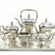 Reed and Barton sterling silver tea service, $6,765