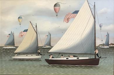 Six Cahoon marine paintings headline Rafael Osona sale, Aug. 28