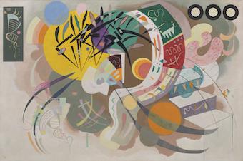 Kandinsky: Around the Circle opens Oct. 8 at the Guggenheim